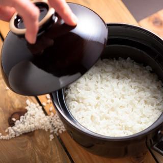 【土鍋ご飯】特A米受賞米お楽しみいただけます♪