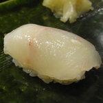 喜楽鮨 - 白身づくし・ほうぼう