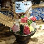 とろ鮪 - とろ鮪 西葛西店 とろ鮪大鉢刺身 999円(税別)