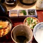 北浜あなごや 日本酒と酒肴 - 穴子ひつまぶし890円