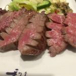 Gyutansumiyakirikyuu - 牛たん極定食(3枚6切) ¥2,106
