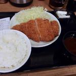 52617620 - ロースかつ定食(700円)