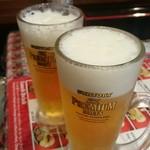 ニュープラシッダ - 生ビール。