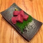 防波亭 - 本マグロ赤身刺