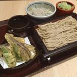 万葉そば - 6/23  テテ〆蕎麦❤  麺活( ✧Д✧)✨