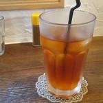 カフェ ソラ - 夏はアイスルイボスティーで・・・^^;
