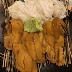 ぼんてん漁港 - 雲丹と湯葉☆