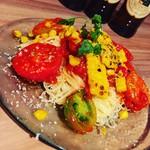 tenerezza - 焼きトウモロコシとフレッシュトマトのカッペリーニ