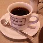 コーデュロイ カフェ - 締めの「コーヒー」です。