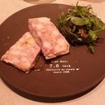 コーデュロイ カフェ - 「パテ・ド・カンパーニ PATE DE CAMPAGNE」です。 しつこくない、あっさりした一皿でした。