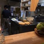 イタリア食堂 Necco - 自家製のホカッチャ
