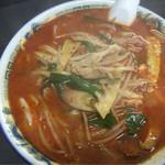 青龍 - 辛い味噌スープソバ