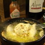 虎食堂 - オイルサーディンのチーズ焼き