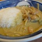 クルンテープ - 鶏肉のグリーンカレー