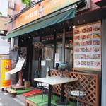 クルンテープ - いかにもタイ料理店って感じの店外