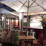 マーケット カフェ - ライトアップテラス席
