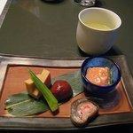 京富庵 - スープと八寸