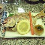 5265278 - 期間限定、銚子港産小鯛焼き(500円) 15cm位ありました