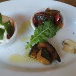 レストラン サティスファクション - 前菜 美味しいです♪