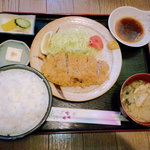 お食事処とんかつかすみ - 料理写真:とんかつ定食