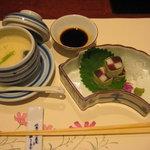 5266857 - 茶碗蒸し&お造り
