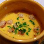 キッチン CACCIATORA - かぼちゃの冷製スープ