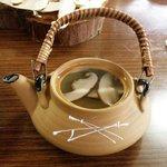 丸光園松茸山 - 松茸の土瓶蒸し