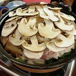 丸光園松茸山 - 松茸鍋(3人前)