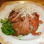 ゴールデン タイガー - ど~んとっ ローストビーフ丼❤ (((*≧艸≦)ウッシッシ❤❤