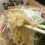 麺堂 傾奇者 - 麺アップ