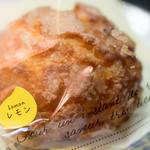 パティスリー カンパニュラ メデュウム - 2016.6 瀬戸内レモンのシュークリーム(250円)