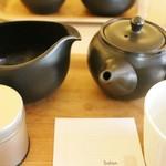 Salon de KANBAYASHI - 茶葉、お湯、急須のセット