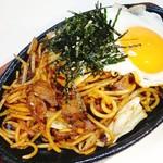 いざかや山賊 - 焼きそば(チャンポン麺使用)