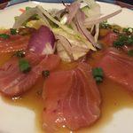 全席個室 × 肉寿司食べ放題 はるか - haruka:サーモンのカルパッチョ