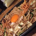 ケンゾーカフェ - ケンゾーカフェ(KENZO cafe)(福岡県福岡市博多区上川端町)焼ラーメン