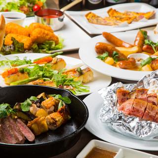 ◆コース料理も楽しみ方の一つ◆