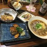 安曇野 - そば小町① 1350円