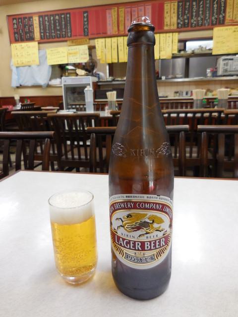 ゆたか食堂 - 瓶ビール(大)