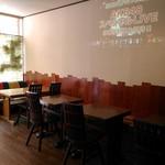 カフェ オレンジ - テーブル席