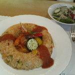 レストラン万葉 - 料理写真:万葉海鮮ピラフ