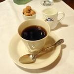 ら・ぴぇにゅ - Aランチ(1,300円+3%)食後のコーヒー