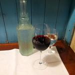 ら・ぴぇにゅ - 赤ワイングラス(600円+3%)