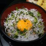 52692060 - ランチ:静岡産しらす丼