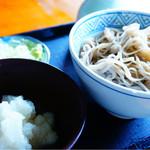 石筵 - 料理写真:高遠そば