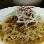 中華料理 菜香菜 - 冷やし担々麺:辛くないクリーミーな胡麻ダレ