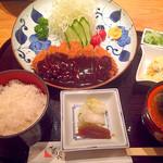 52695992 - ロースカツ定食