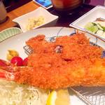 備長 - ヒレカツ&エビフライ定食