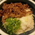 52696770 - 肉冷やし(大盛り・肉追加)