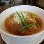 手打ち麺 やす田 - カツオ「醤油」700円