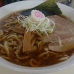 麺屋 にぼすけ本舗 - 極太鶏そば醤油600円